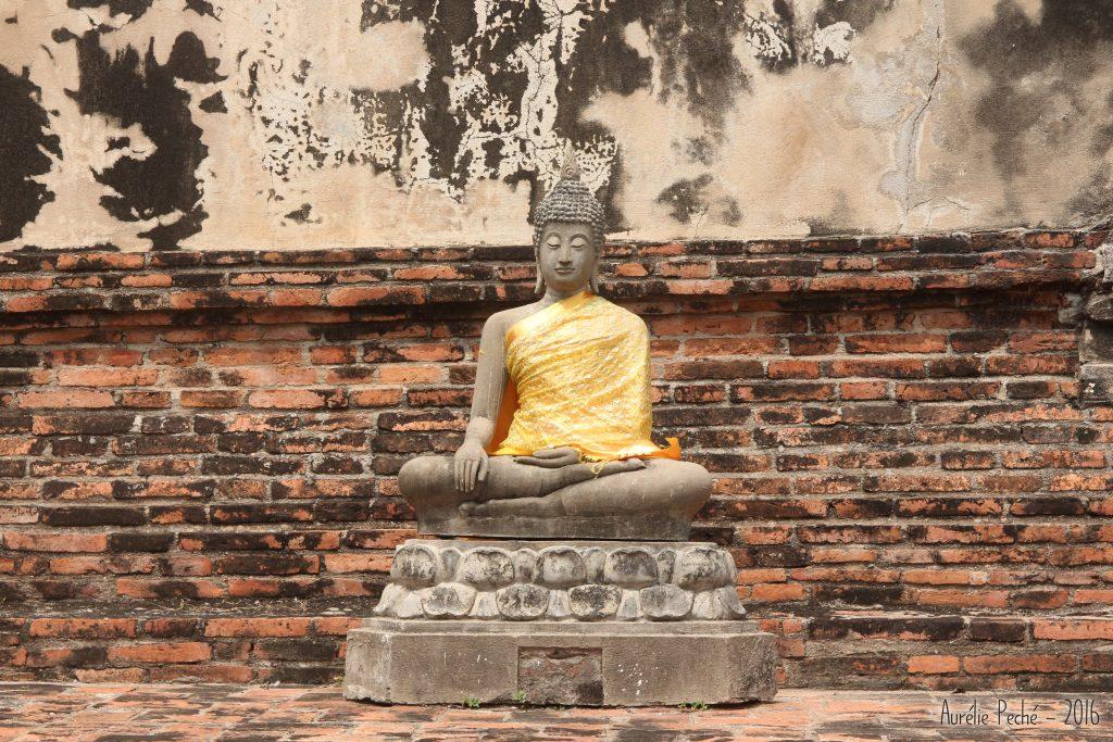 Statue de bouddha - Ayutthaya (Thaïlande)