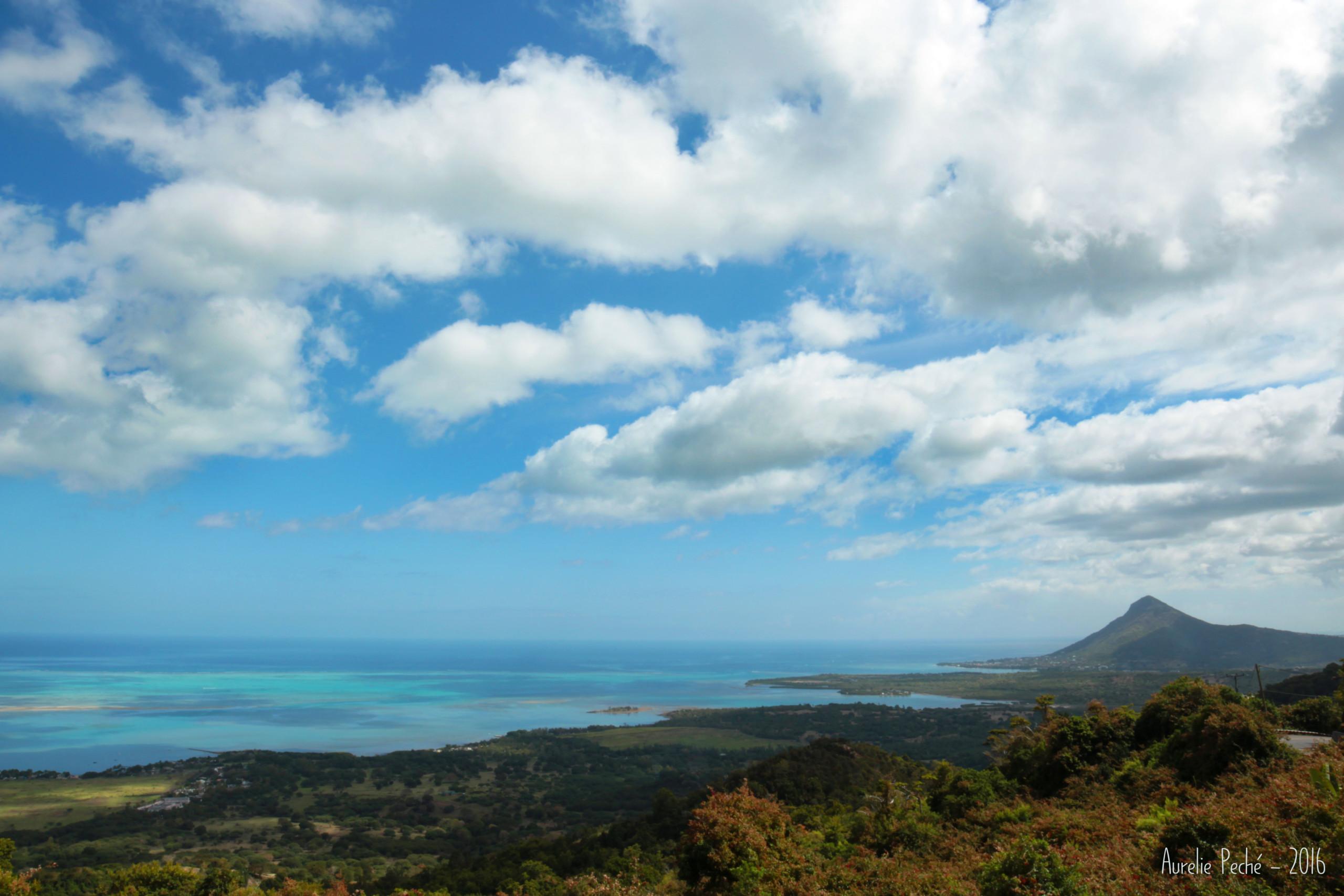 Vue sur la baie de Tamarin - Île Maurice