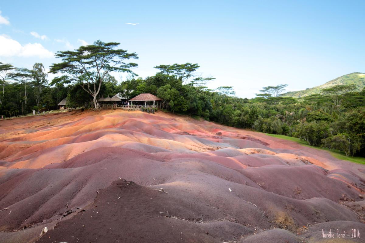 Vue sur les terres aux sept couleurs de Chamarel - Île Maurice