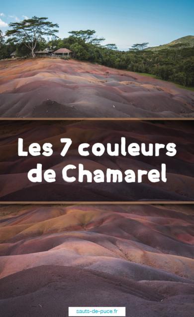 Visite des 7 couleurs de Chamarel