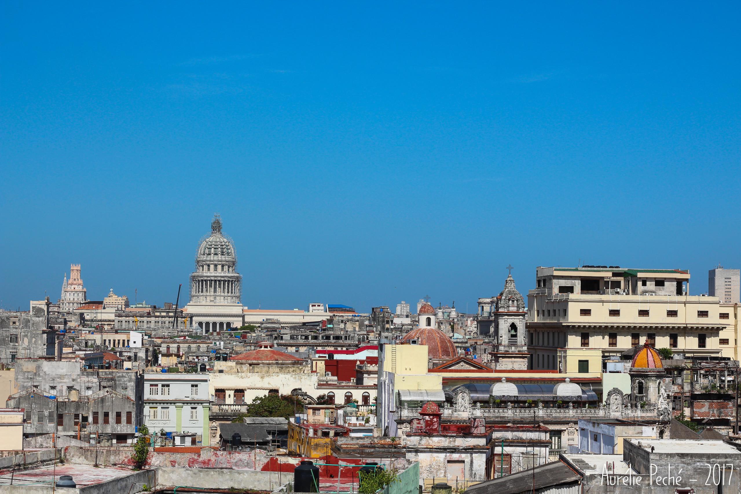 Vue sur le Capitole depuis la tour du couvent