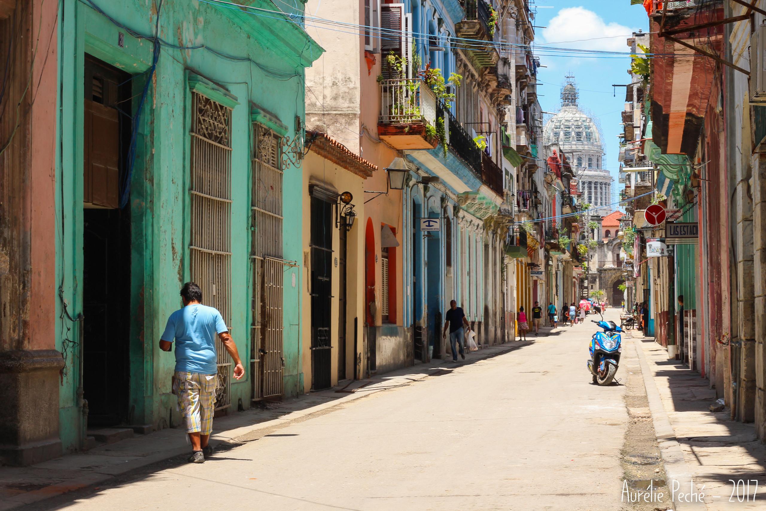 Rue de la vielle Havane