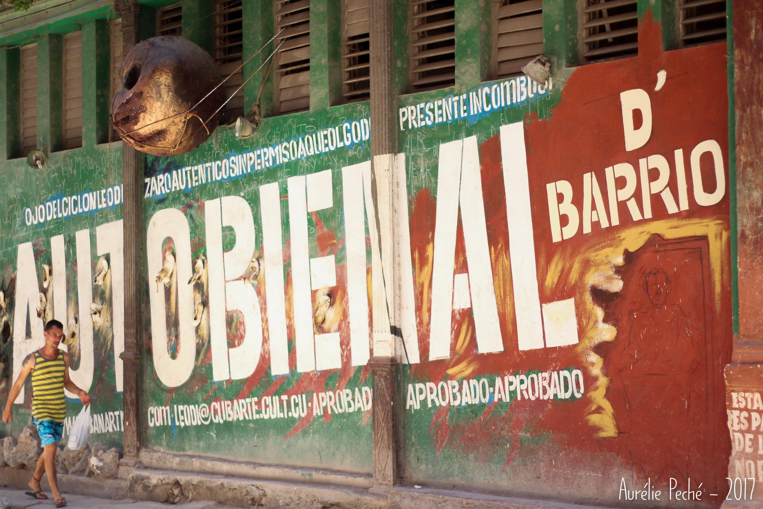 Peinture dans la vielle Havane