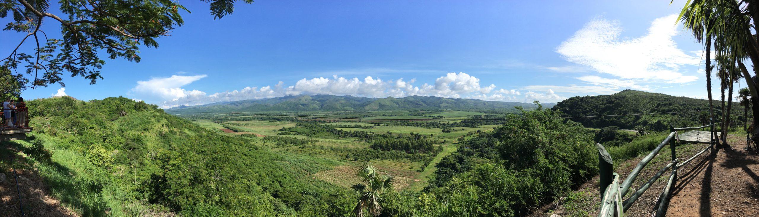 Panorama depuis le mirador de Los Ingenios