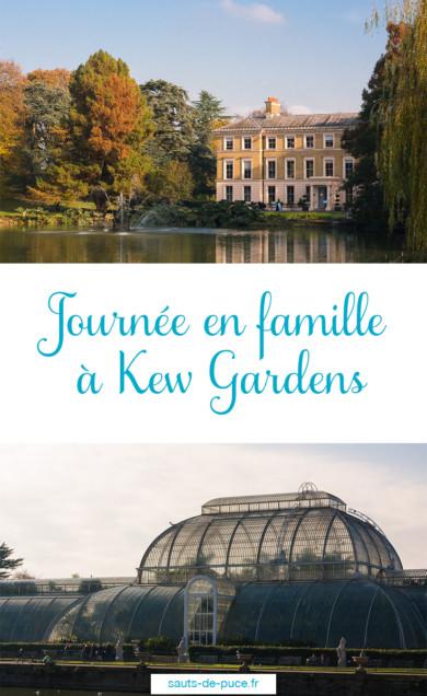 Journée en famille à Kew Gardens