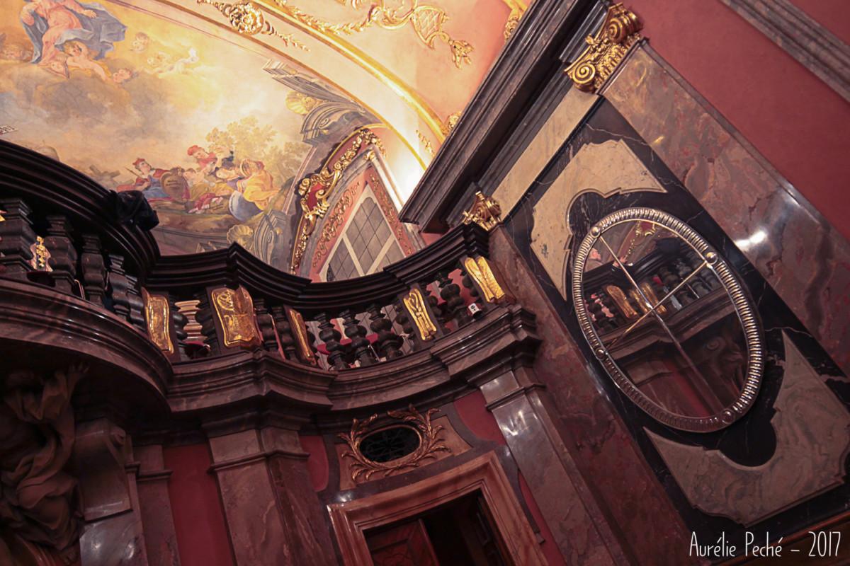 Prague - Chapelle aux glaces