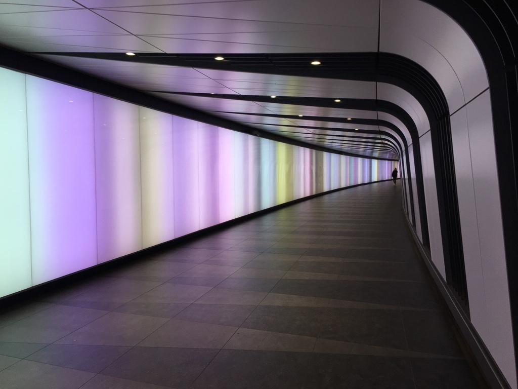 Light tunnel de King's Crosse