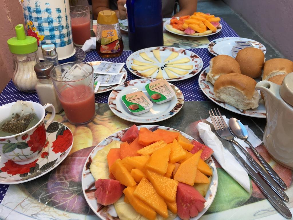 Petit éjeuner en casa particular