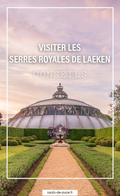 Visiter les Serres Royales de Laeken - image Pinterest