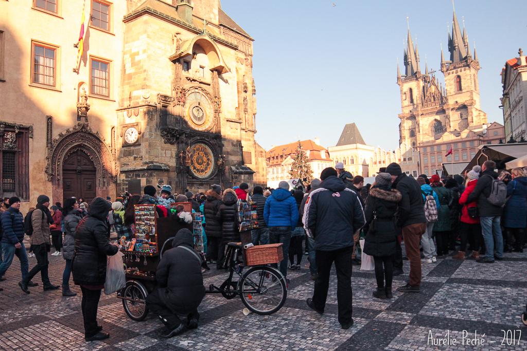 Prague, place de la vielle ville