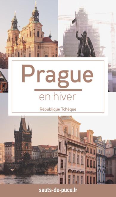 Visiter Prague en hiver - itinéraire et conseils