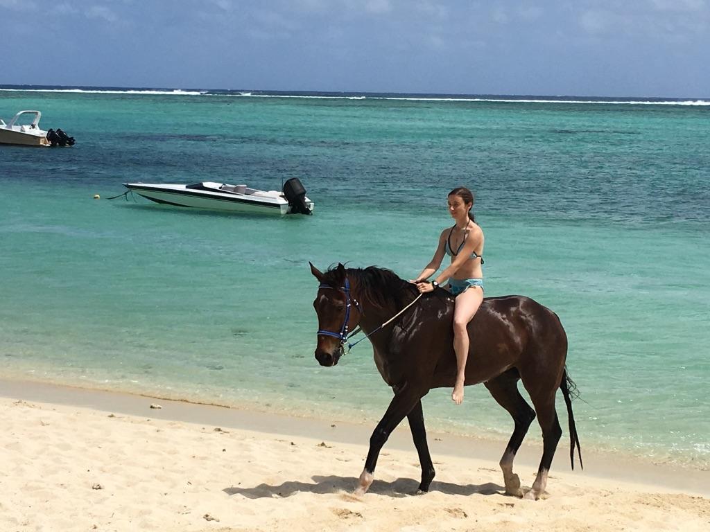 balade à cheval à Maurice