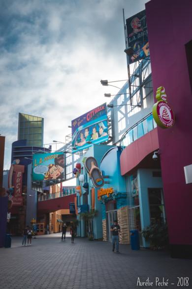 Universal City, une mini ville autour du parc