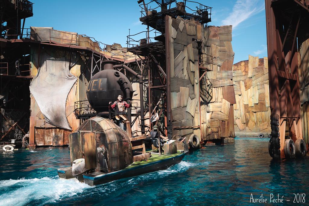 Universal studio ce sont aussi des shows, ici WaterWorld.