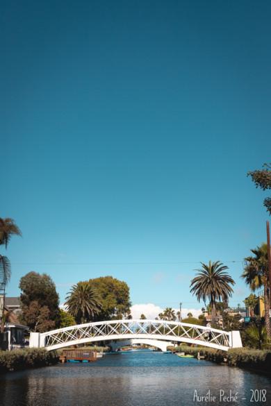 Los Angeles - les canaux de Venice Beach