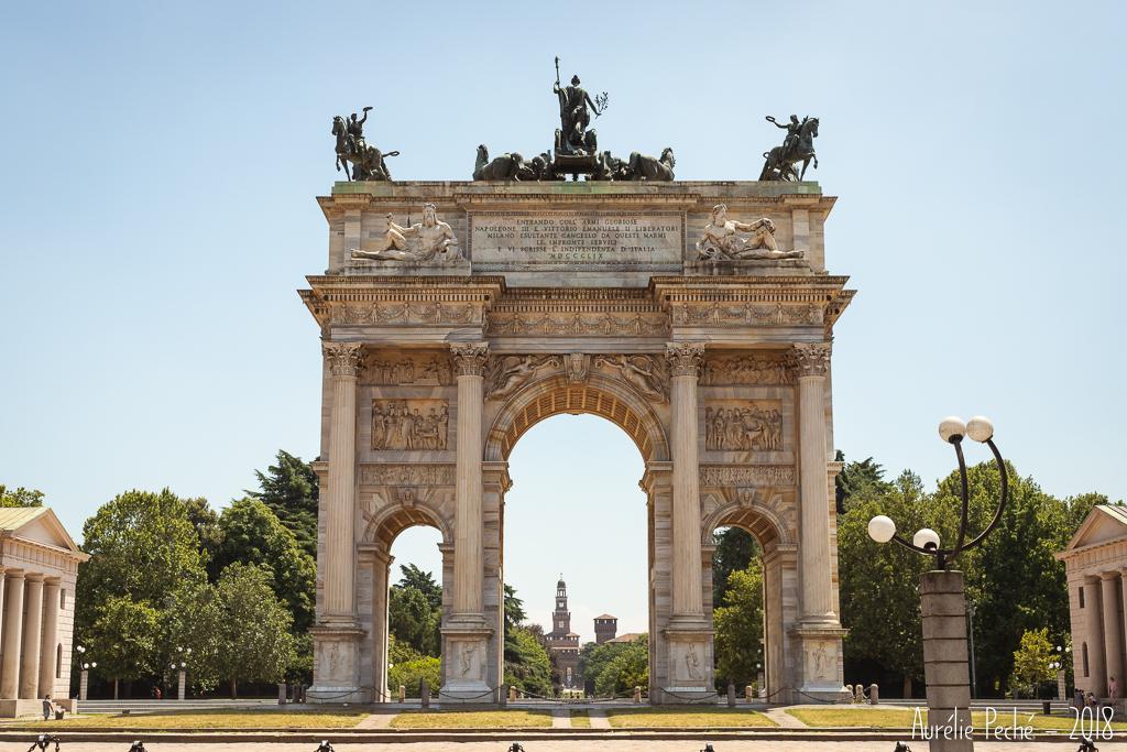 L'arc de la paix de Milan