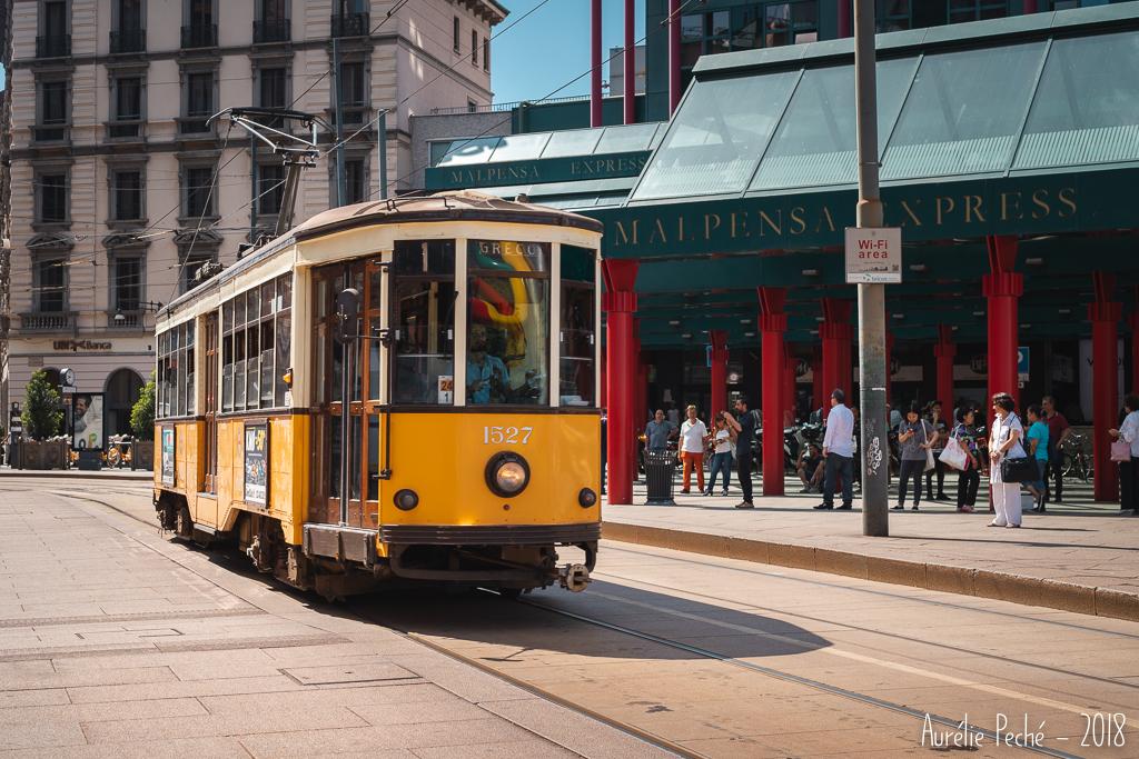 Tram de la ligne 1 de Milan