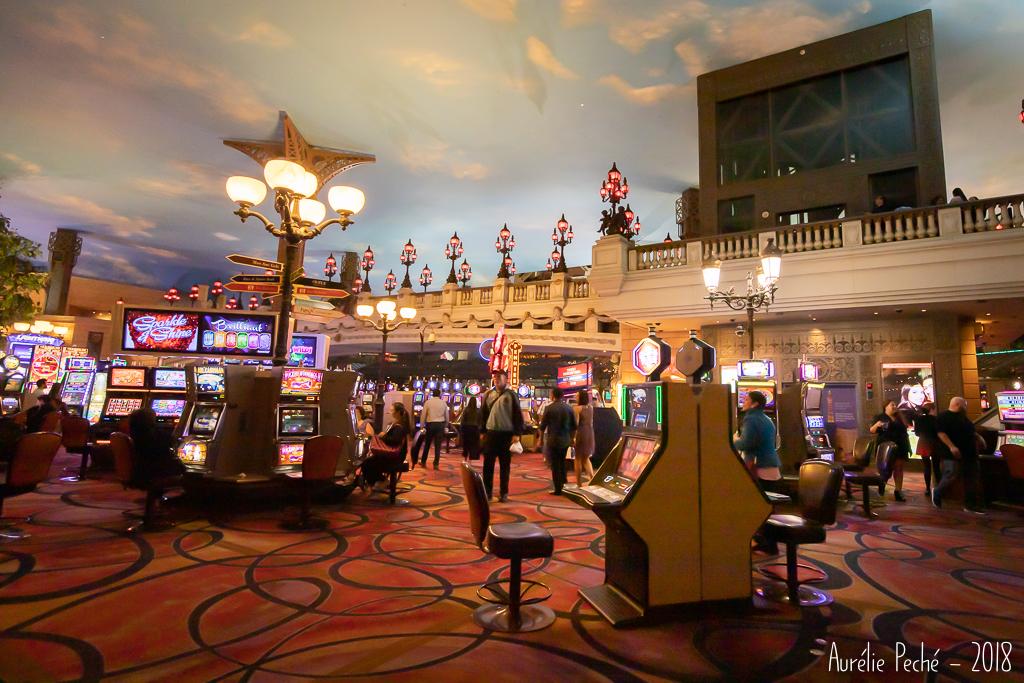 """le casino """"Paris Las Vegas"""" et son trompe l'oeil"""