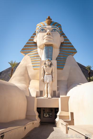 Le casino Luxor et son sphinx