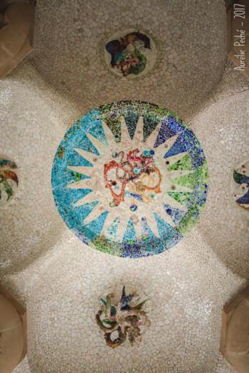 Plafond du temple Dorique