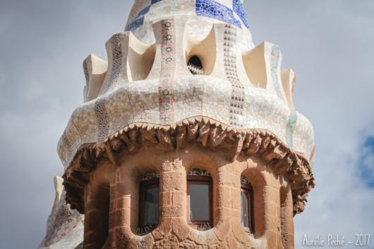 Détail de la maison Gaudi