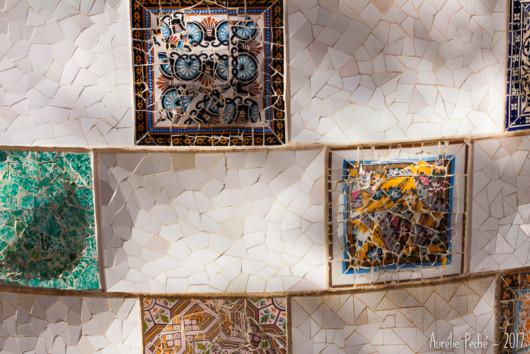 Détail des mosaiques