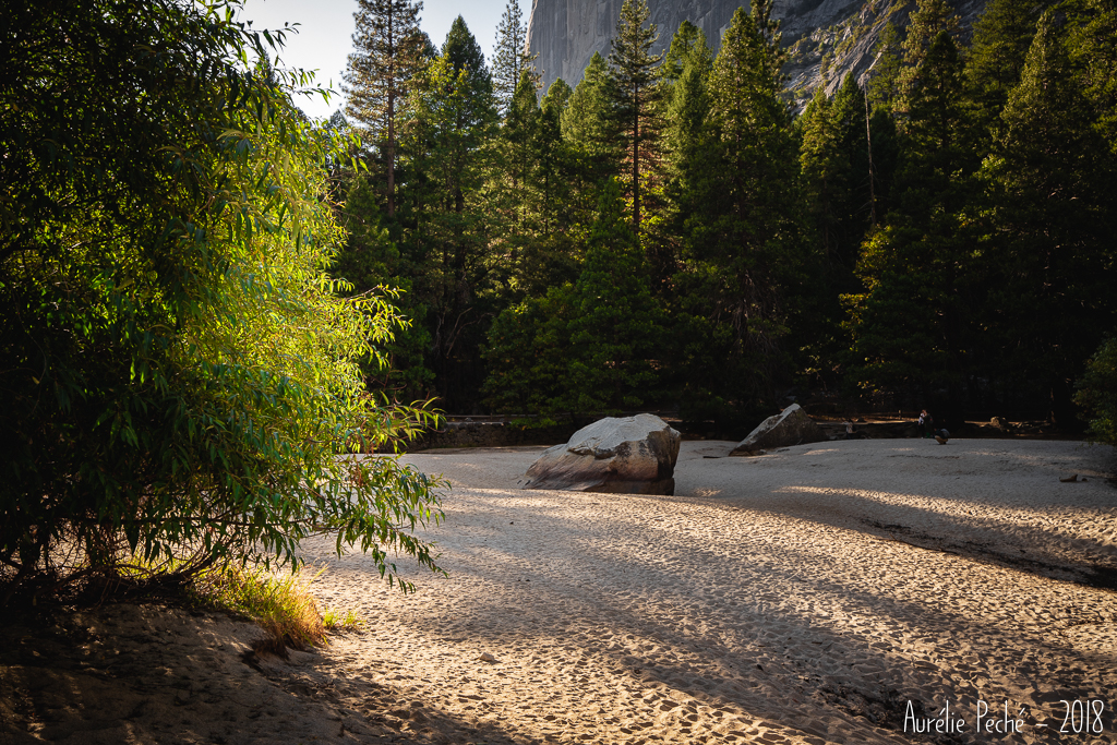 Mirror lake à Yosemite
