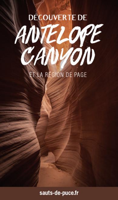 Découverte d'Antelope Canyon et de la région de Page