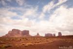 Vue sur Monument Valley