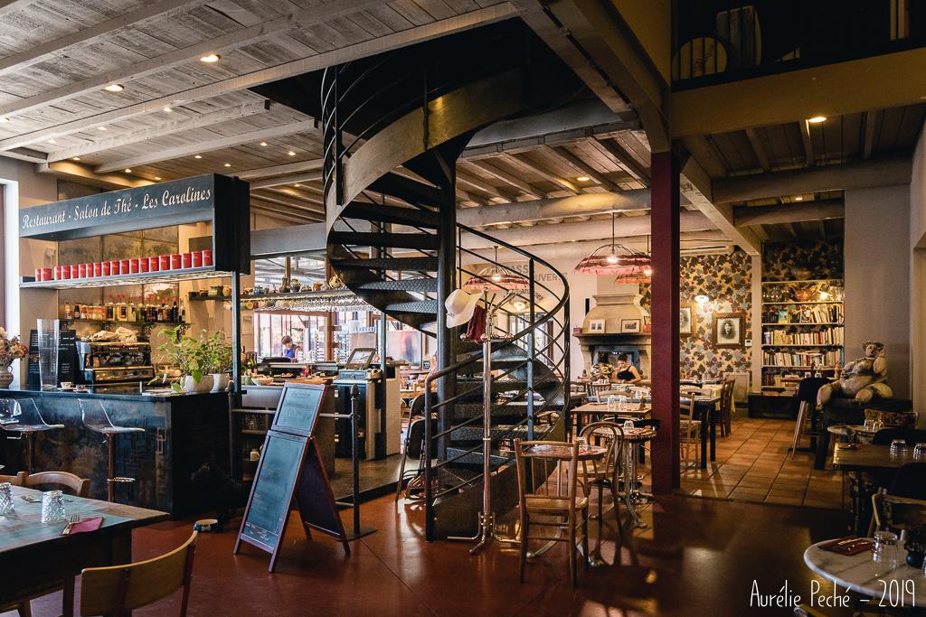 Petit restaurant au musée du nougat