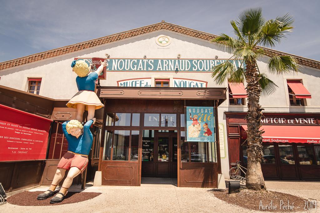 Entrée du musée du Nougat