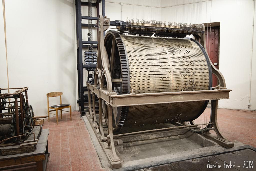 Mécanisme du carillon du Beffroi