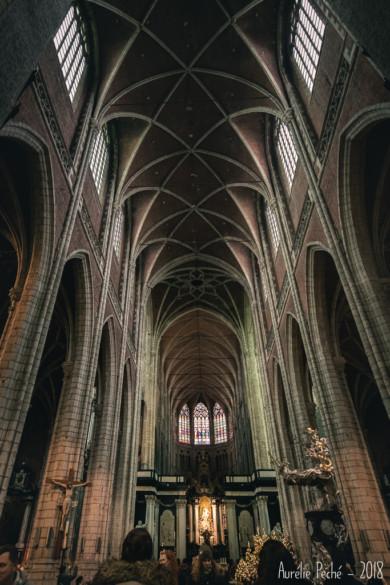 Intérieur de la cathédrale Saint-Bavon
