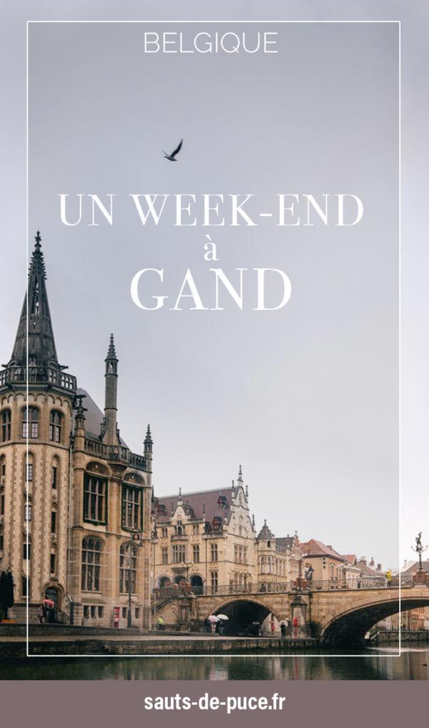 Un week-end à Gand, en Belgique, que faire que voir ?