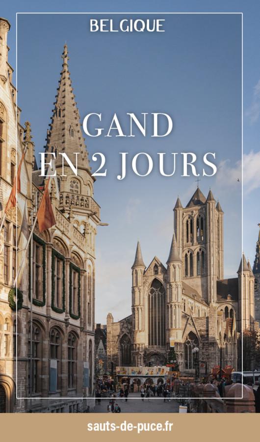 Visiter Gand en deux jours