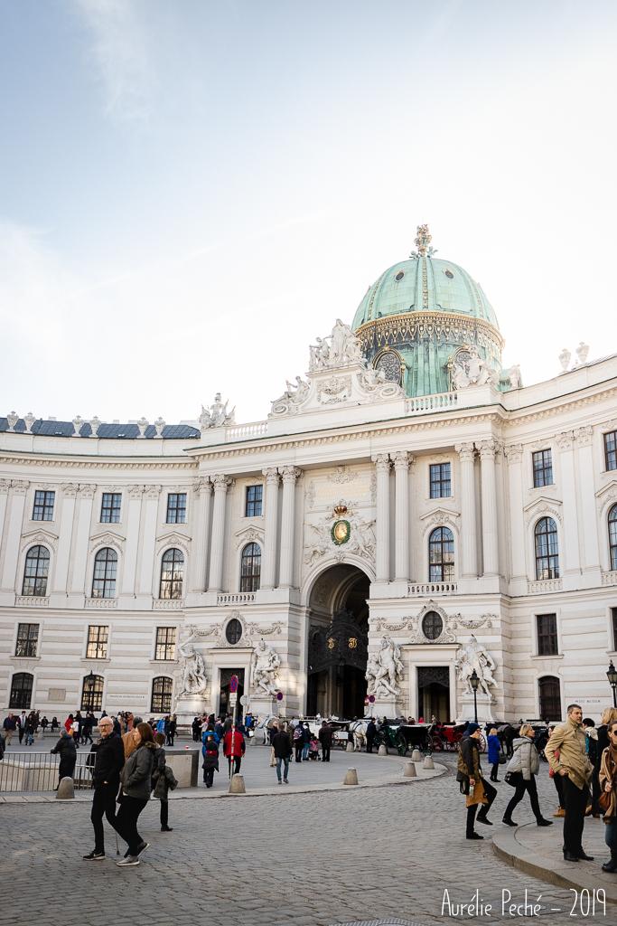 Quartier de la Hofburg dans le centre de Vienne