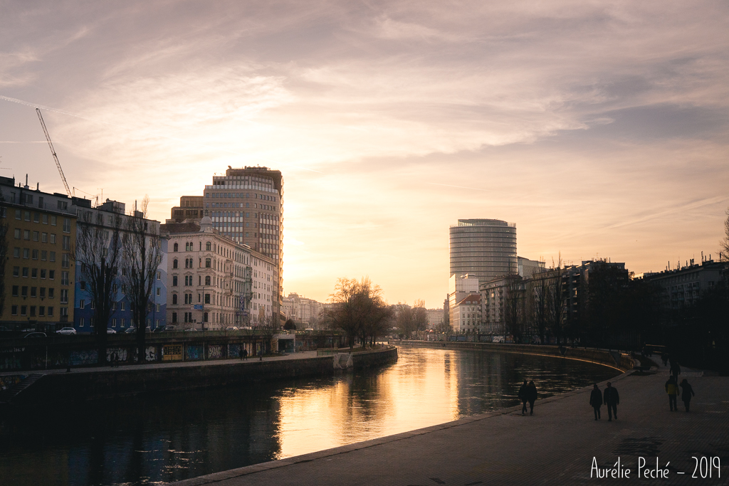 Promenade le long de la dérivation du Danube - Vienne