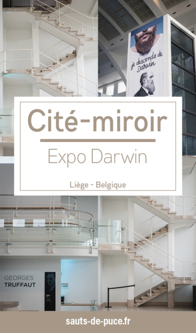 """Découverte de la cité-miroir à Liège et de l'exposition temporaire """"Darwin, l'original"""""""