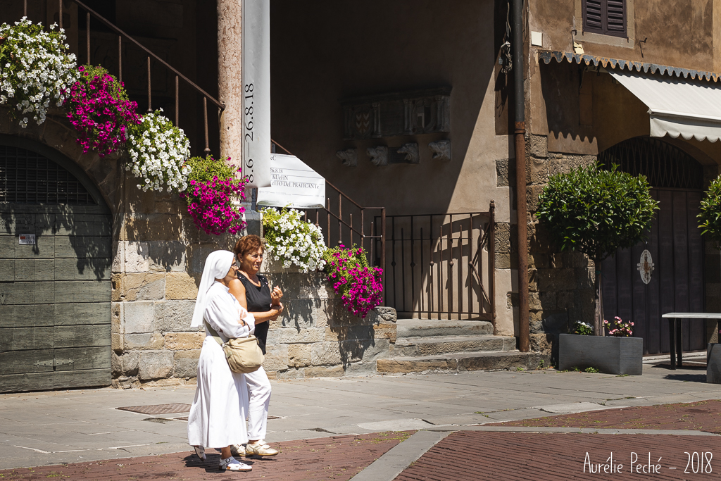 Dans les rues de Bergame