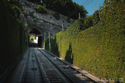 Funiculaire vers la Citta Alta