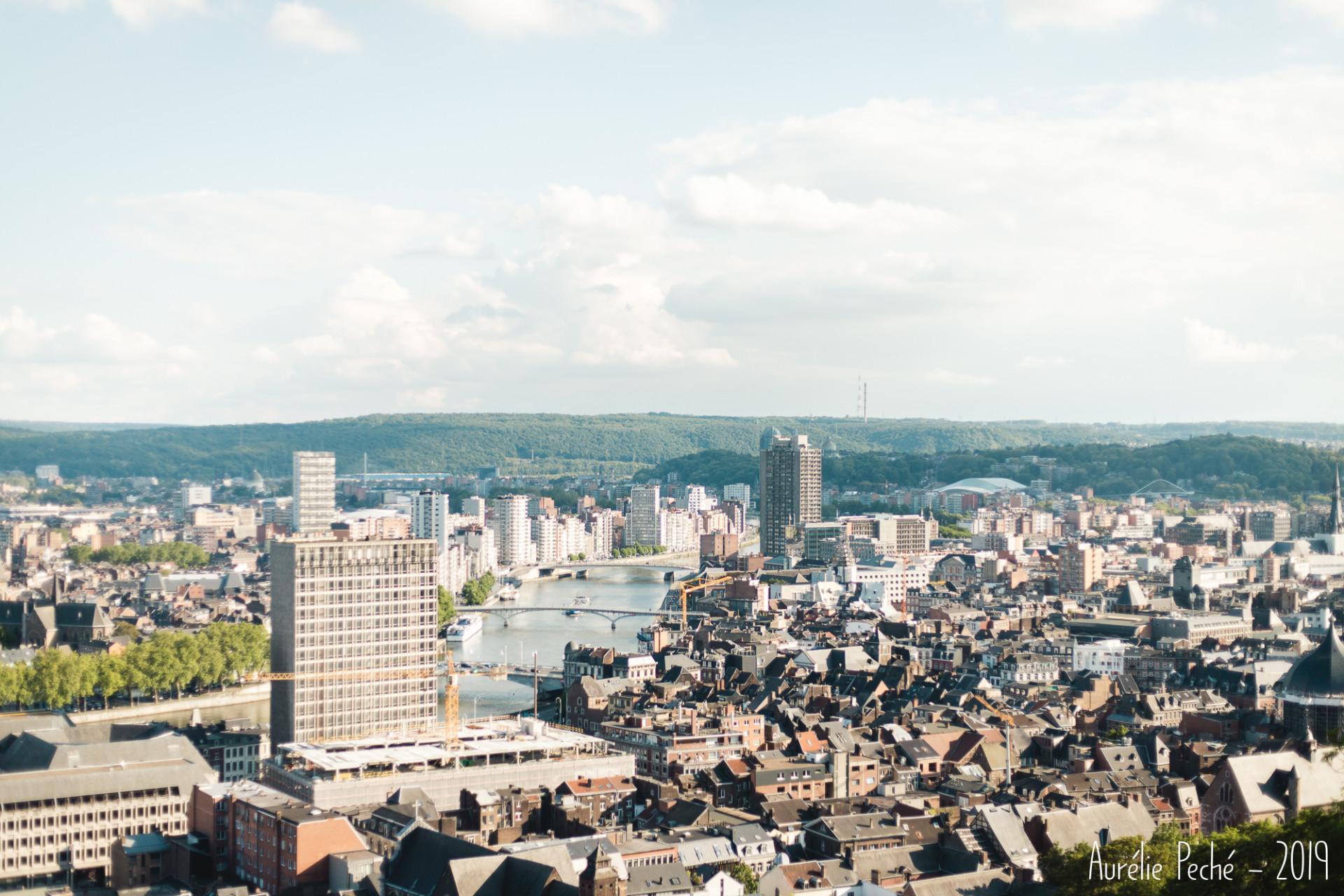 Vue sur Liège