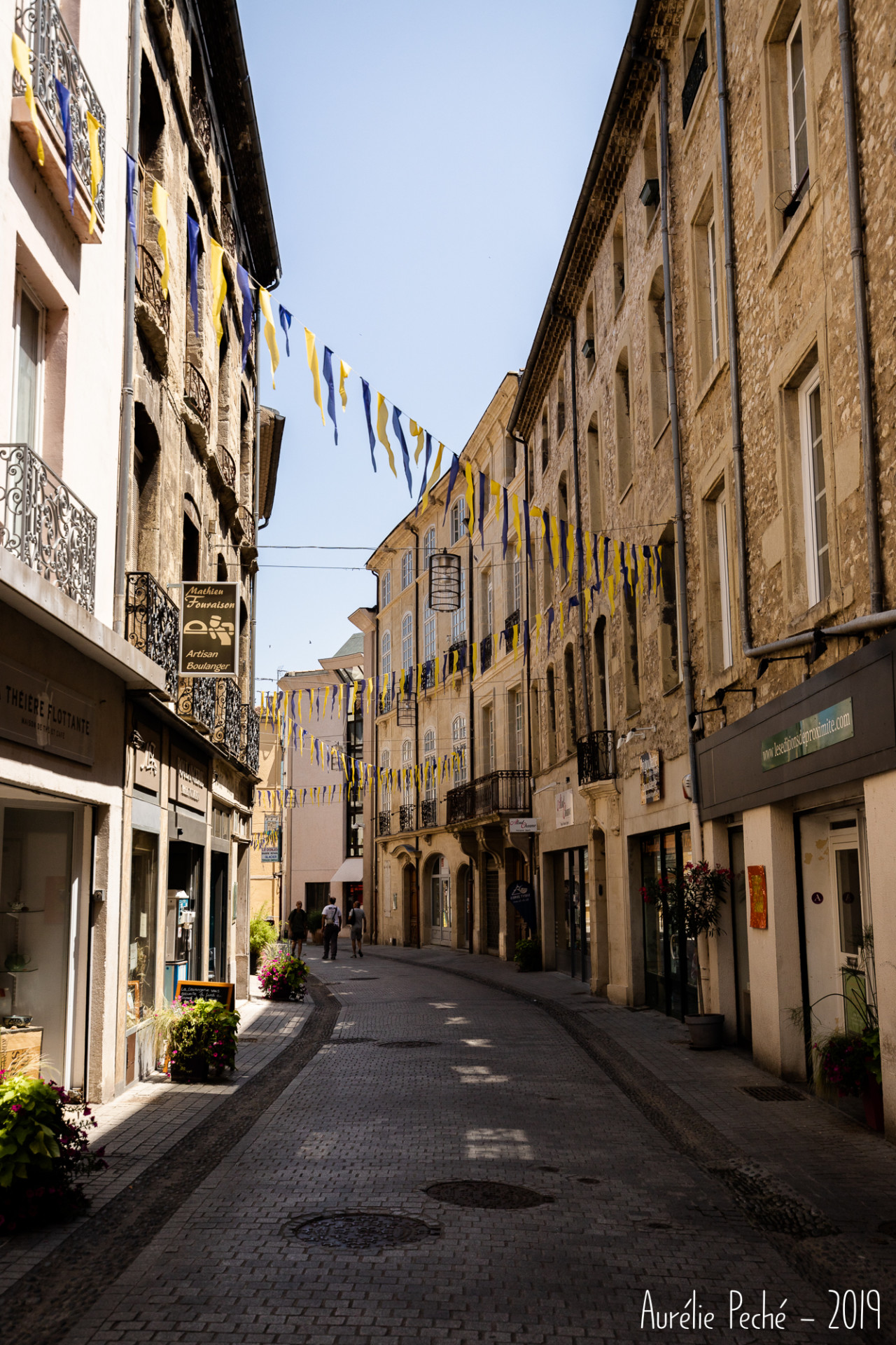 Visite de Crest en Drôme