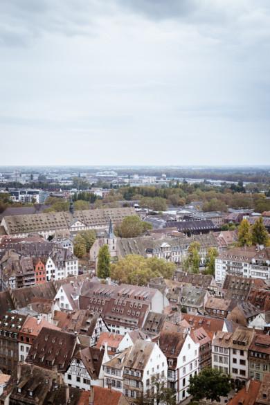 Vue sur Strasbourg