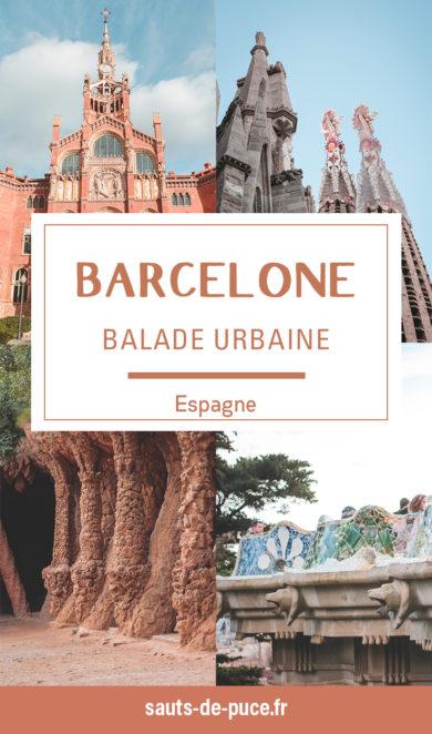 Balade urbaine dans Barcelone, de la Sagrada Familia au Parc GuëlL