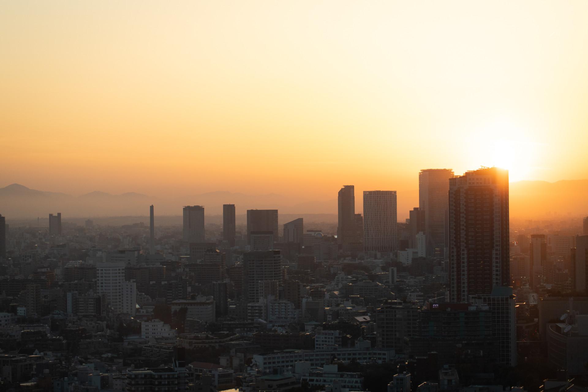 Vue depuis la Tokyo Tower - Japon