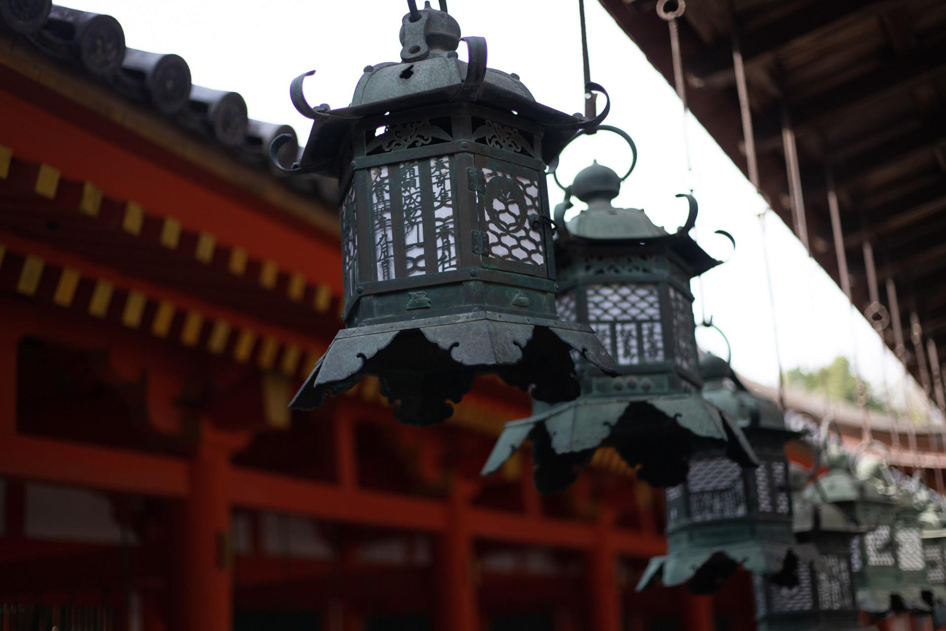 Lanternes à Nara