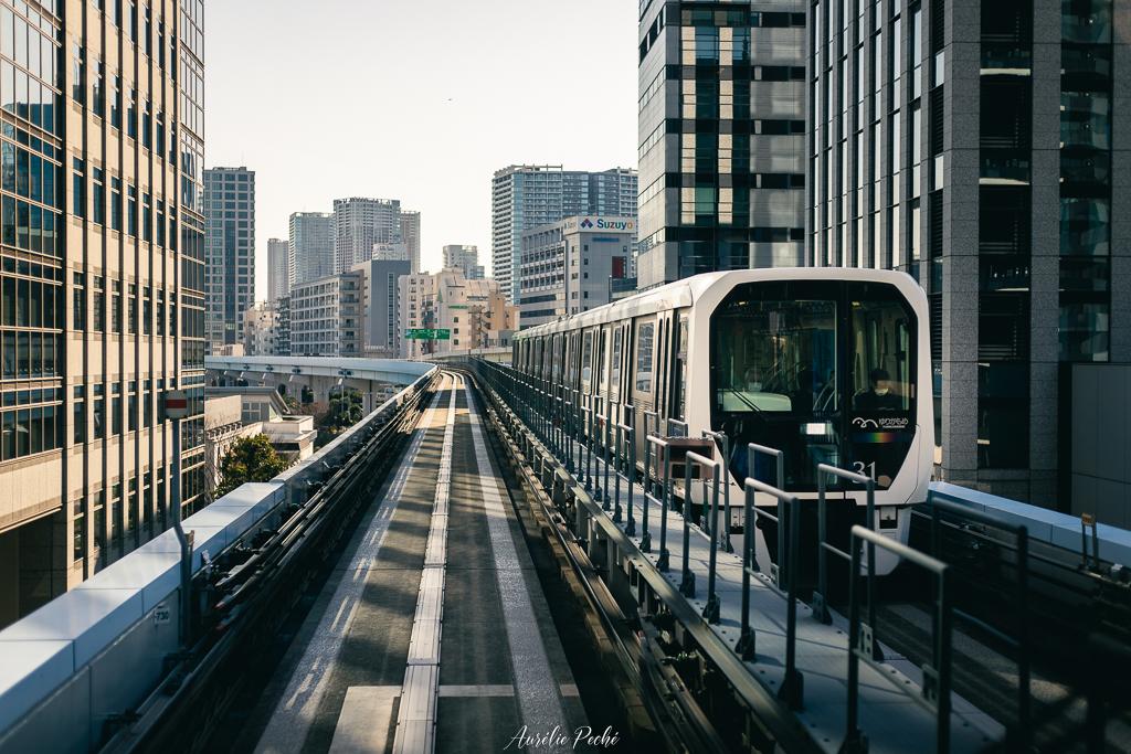 Metro vers Odaiba