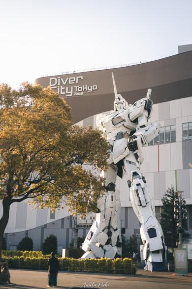 Gundam géant à Odaiba