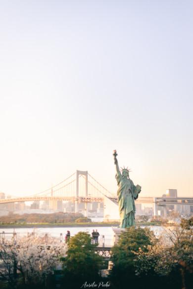 Statue de la liberte d'Odaiba