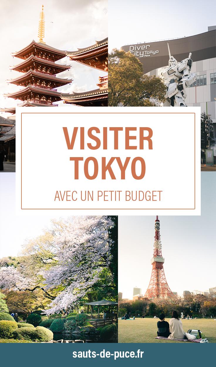 Visiter Tokyo avec un petit budget
